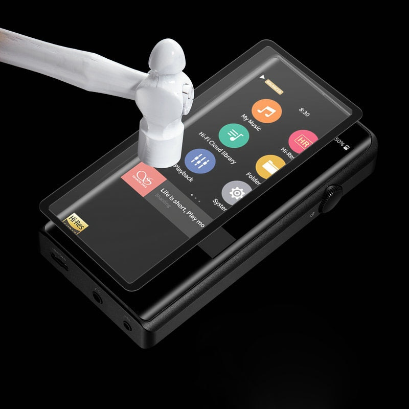 Running Camel For SHANLING M5S HIFI MP3 Music Player Full Coverage Explosion-Proof Tempered Glass Fi
