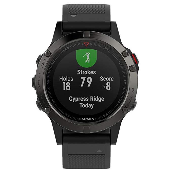 GARMIN Fenix 5 extreme classic marathon running smart watch heart rate monitor fitness waterproof men women sports watches