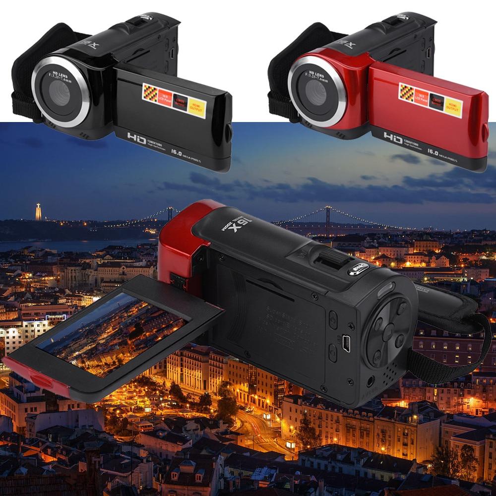 Videocámara digital TFT LCD HD 1080P 16MP 16X, videocámara digital con Zoom