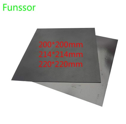 Магнитная печатная лента 220x220 мм, наклейка для печати, Гибкая Пластина для Wanhao i3 Anet A8 Creality ENDER-3 3D принтера