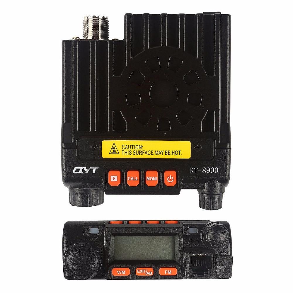 Baofeng KT8900 Mobile Radio Dual Band Transceiver 25W Transmit Power U/V Mini Car Radio Amateur Ham Radio & Orginal Microphone enlarge