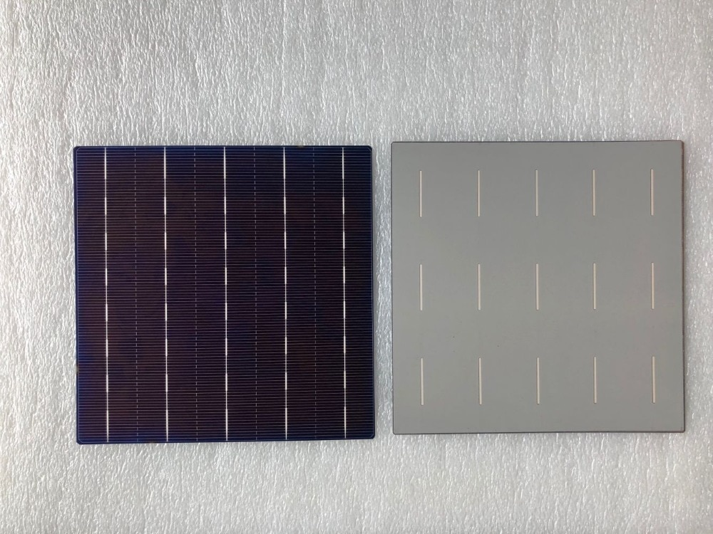 30Pcs 4.5W 18.6% 5BB Efficiency Polycrystalline Silicon Solar Cell 156.75MMx156.75MM For Sale