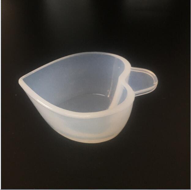 Molde de silicona para dispensador de tazas DIY, herramienta de fabricación de joyas de resina epoxi con modulación de Color, molde para vasos de pegamento epoxi de cristal, 1 Uds.