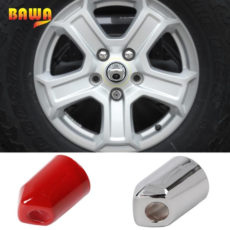 BAWA Car Stickers for Jeep Wrangler JL 2018 Car Spare Tire Camera Cover Stickers for Jeep Wrangler jl