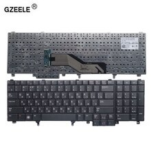 GZEELE новая RU Клавиатура для ноутбука Dell Precision M2800 M4600 M4800 M6600 M6800 RU Русский Черный