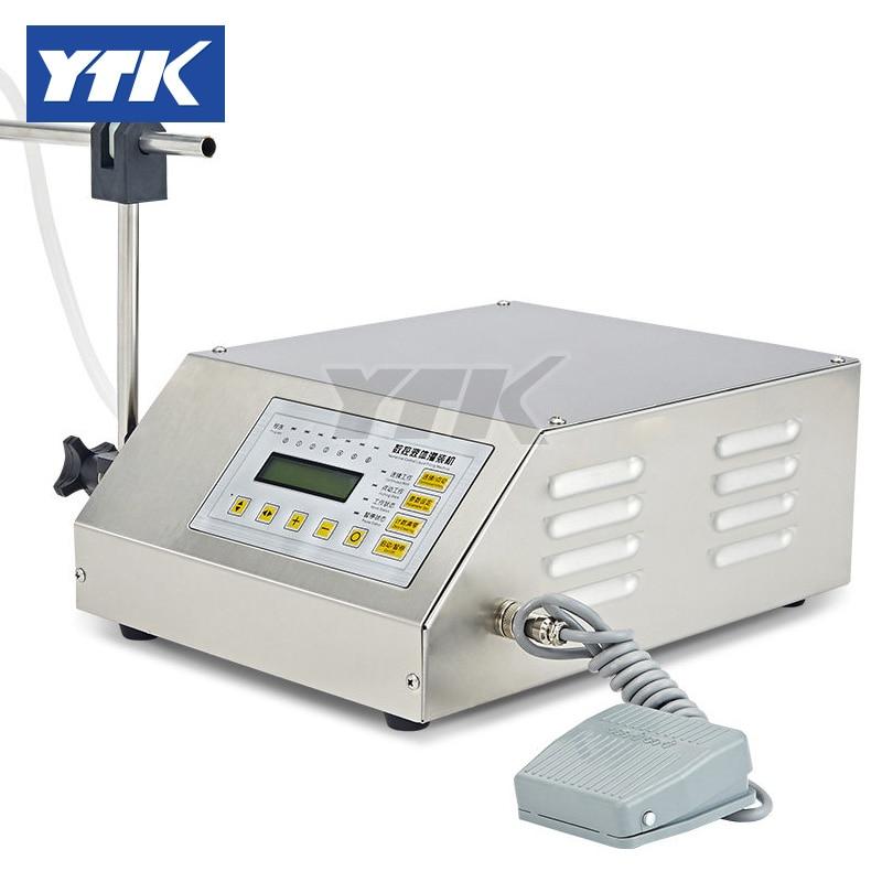 YTK 3-3000ml Water Softdrink Liquid Filling Machine Digital Control GFK160