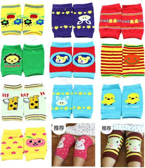"""1 pair  Baby Safety Knee Pad Kids Socks Children Short Kneepad Crawling Protector"