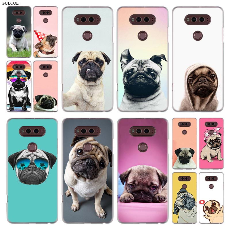 Pugs lindos, funda de teléfono para LG G6, funda para LG G6 G600 Q6 K8 K10 2017 K8 K9 K10 2018 V20 V30 G5 G7 G4 G3