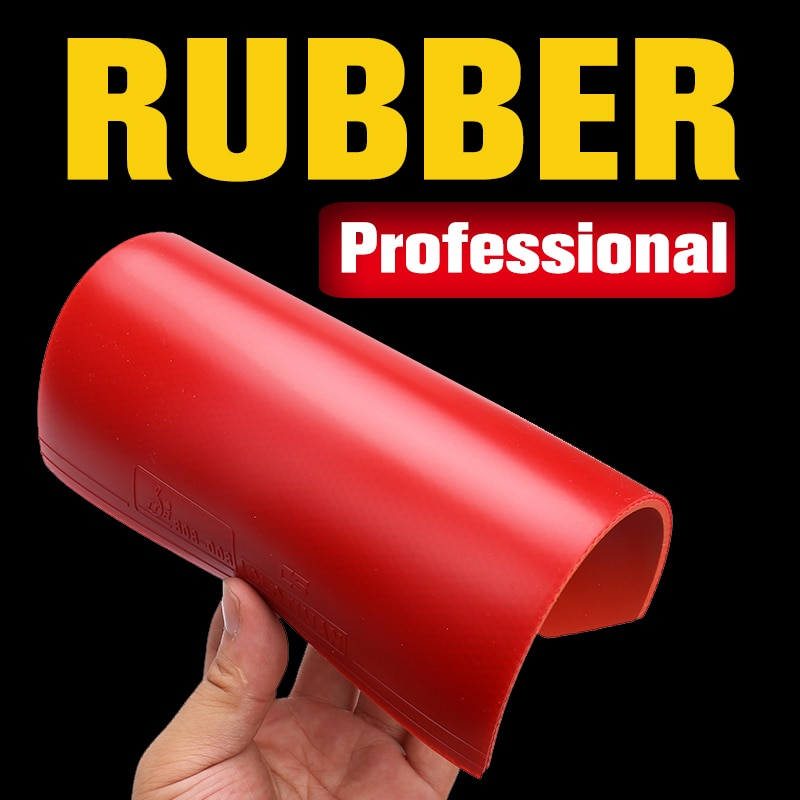 Tischtennis schläger gummi blatt pickel in mit 2,2mm dicke schwamm rot und schwarz gute qualität schläger pingpong gummis