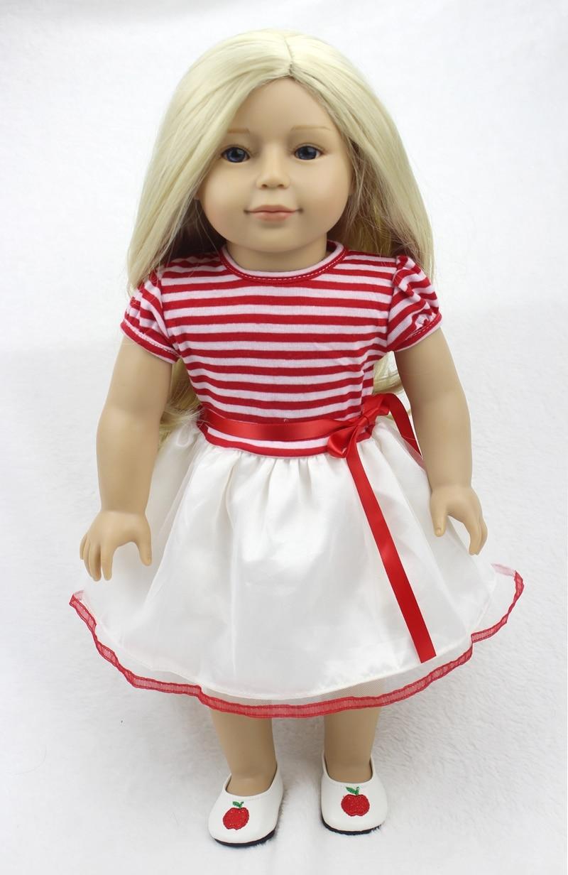 Кукла Reborn Bebe для девочек, 45 см, блонд, длинные волосы, модная силиконовая кукла, подарок на день рождения