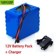 Batería de litio de alta potencia VariCore, 12V, 30Ah, 3S12P, 11,1 V, 12,6 V, batería de litio, para inversor, lámpara Solar de xenón, cargador de calle + 12,6 V, 3A