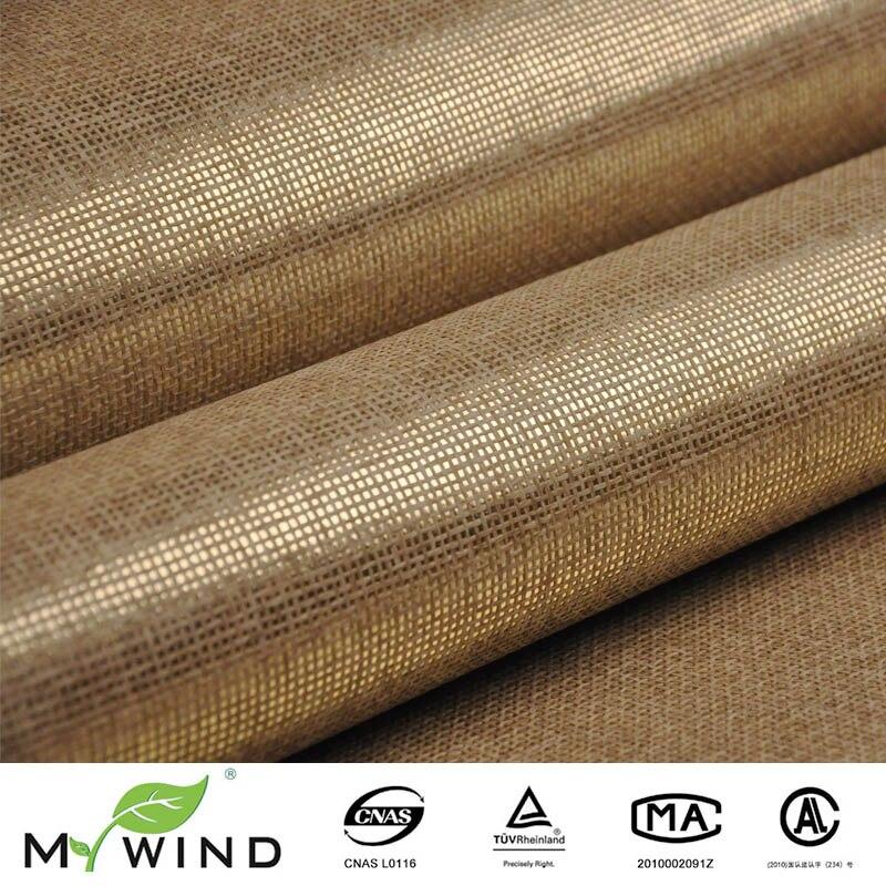 Förderung ligth gold beige grasscloth papier weave wand papier strukturierte natürliche stoff tapete für wohnzimmer dekoration