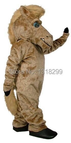 Disfraz de Mascota de caballo de pimienta marrón disfraz de fantasía disfraz de Carnaval