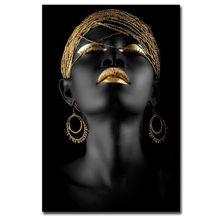 Affiche murale cubisme pour femmes africaines   Imprimés de toile HD, peintures, décoration de maison, affiche décorative réaliste hôtel familial, nouvelle collection