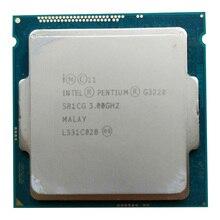 Processeur Intel Pentium G3220 3.0g LGA1150 22 nanomètres LGA1150 3 M Cache double coeur processeur dunité centrale TPD 53 W, ont une vente g3260