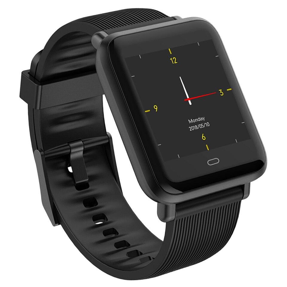 Reloj inteligente Q9 para hombre y mujer, podómetro para monitorizar el ritmo cardíaco, relojes para correr, pulsera deportiva resistente al agua para Android IOS Smartwatch