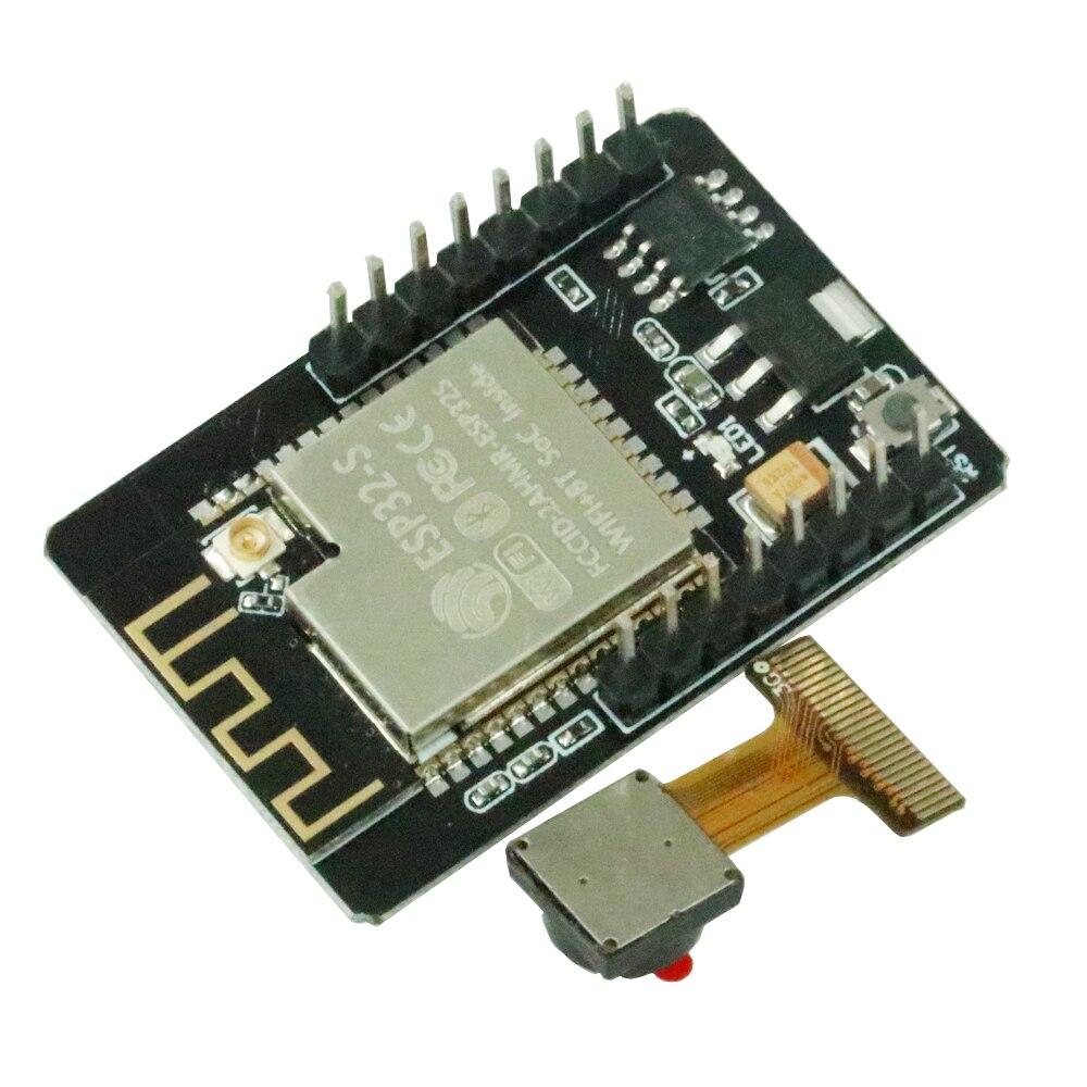 Módulo WiFi ESP32-CAM ESP32 serial a WiFi ESP32 CAM Placa de desarrollo 5V Bluetooth con módulo de cámara OV2640