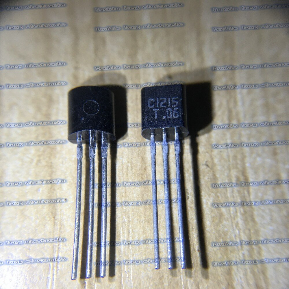 100 قطعة/الوحدة 2SC1215-T 2SC1215 C1215 TO92 السيليكون NPN الفوقي المسوي نوع