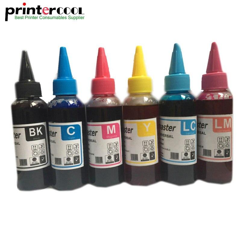 Einkshop 600 мл T0481-T0486 чернила для заправки красителя для Epson Stylus Photo R200 R220 R300 R320 R340 RX500 RX600 универсальные чернила T0481