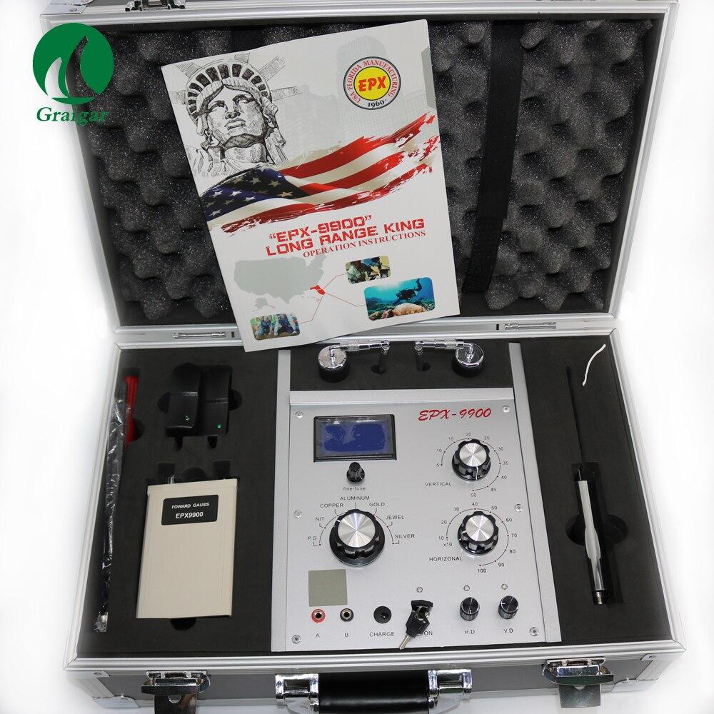 Underground Metal Detector EPX9900 Long Range Locator Gold Diamond Silver Copper Metal Detector EPX-9900