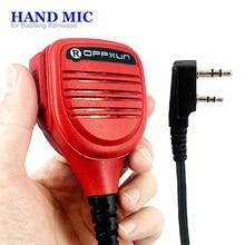 Haut-parleur micro pour Baofeng UV-5R BF-888s GT-3TP Kenwood TK-3207 talkie-walkie Radio bidirectionnelle