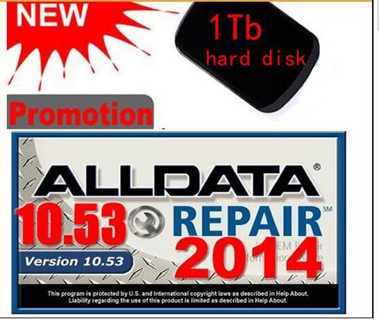 Программное обеспечение для ремонта авто Alldata и Mitchel ondemand 2015 + ElsaWin + яркие данные цеха 16 in1tb usb hdd ремонт 2020