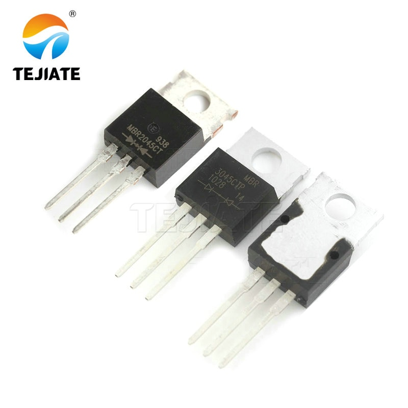 10 unids/lote MBR2045 MBR2045C Schottky rectificadores y MBR2045CT 20A 45V a-220 original nuevo en Stock MBR3045CT 30A45V