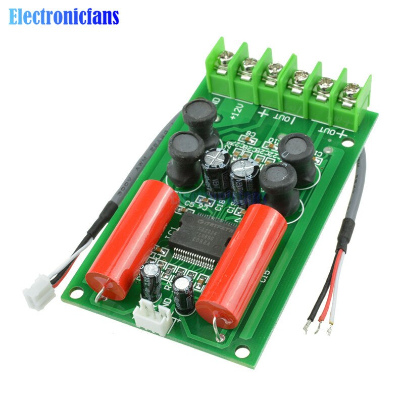 TA2024 12V 2x15W placa amplificadora de amperios Mini HIFI Digital de Audio de PC para coche