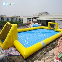 OEM מתנפח וסבון אצטדיון כדורגל כדורגל שדה עבור ספורט משחק