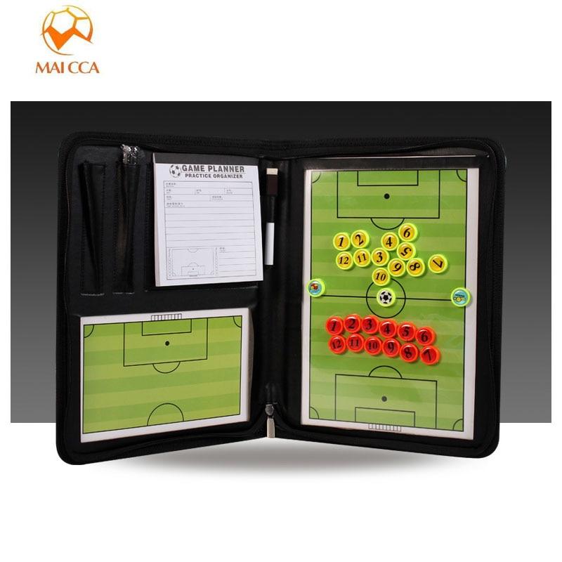 Tablero magnético de entrenador para fútbol, placa táctica de baloncesto, tablero táctico de voleibol, tablero de entrenamiento de balonmano