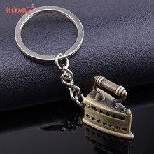 Voiture style fer porte-clés moto clé porte-anneau accessoires pour Mazda Lada Buick Hyundai Honda Daihatsu KIA Subaru porte-clés
