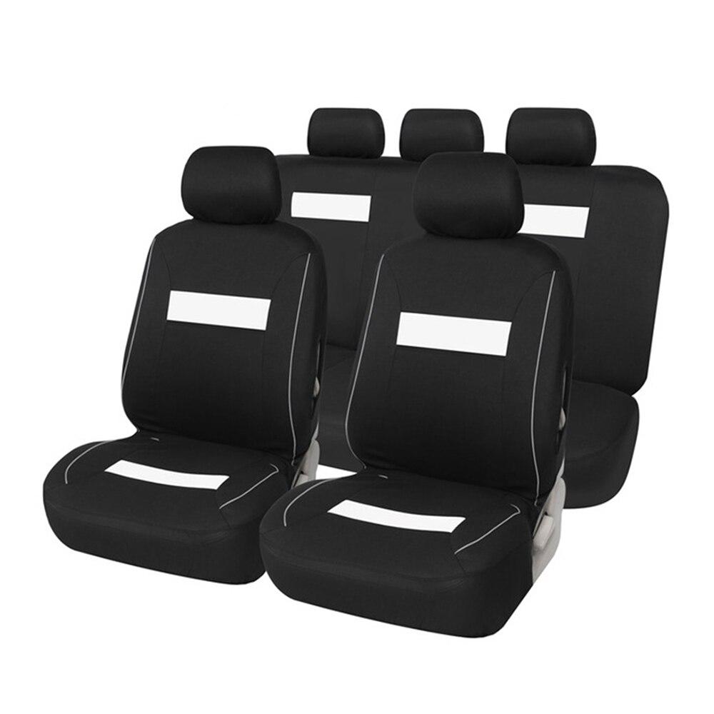 Cubierta de asiento de automóviles FLY5D cubierta de asiento de coche completo ajuste Universal accesorios interiores Protector estilo de coche