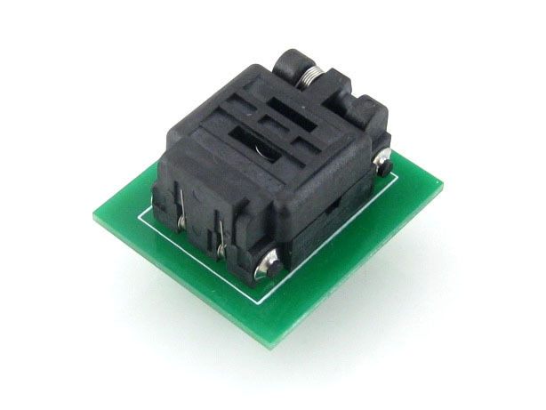 QFN8 TO DIP8 (C) QFN8 MLP8 MLF8 Plastronics 08TN13A18060 IC Test Burn-in Socket Programming Adapter  1.3mm Pitch