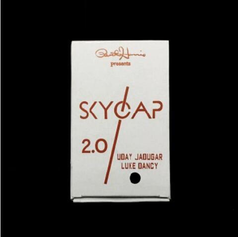 Skycap 2,0 (черный цвет) магический трюк смешной макро флакон для магии иллюзии, трюк, реквизит профессиональные маги