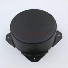 GD-PARTS 150mm rond noir fer AMP transformateur Triode protéger housse boîtier boîtier pour Vintage Hifi Audio bricolage 65mm 75mm