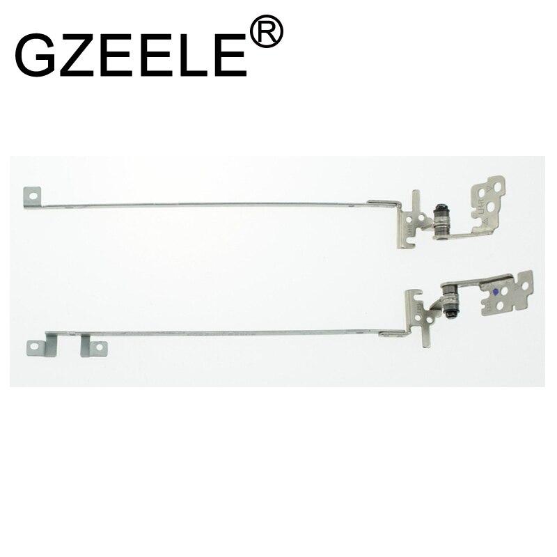 "GZEELE nuevo ordenador portátil LCD Hinge para HP Mini 110 110-1000 110C 110C-114NR 10,1 ""6055B0002604 6055B0002601 6055B0002701 bisagras LED L & R"