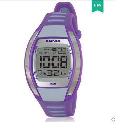 Reloj Digital deportivo para mujer, movimiento japonés, iluminación Led, a prueba de agua, 100 m, reloj deportivo para niñas, reloj para nadar y bucear, reloj al aire libre