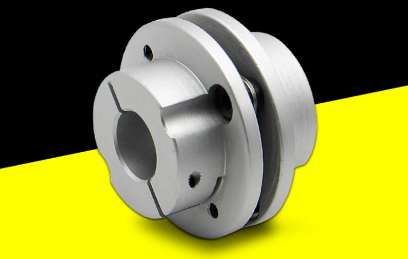 B type single diaphragm coupling / step flange type elastic / servo single elastic coupling