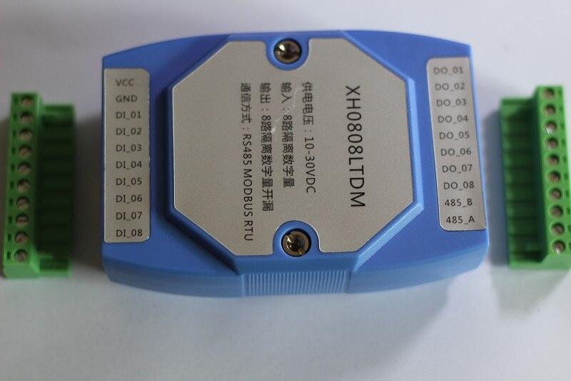 وحدة تحكم RS485, تصميم للإدخال الرقمي ذو 8 اتجاهات و 8 خرج رقمي