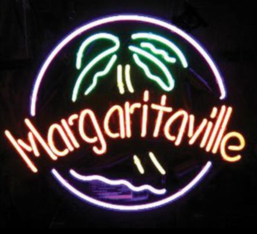 العرف مارغريتافيل الزجاج ضوء النيون تسجيل البيرة بار