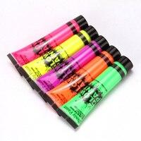 Флуоресцентная краска, 5 штук по 75 мг.