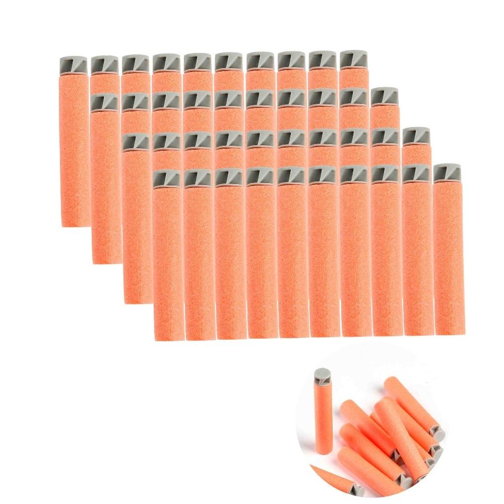 Balas de espuma de cabeza blanda 20 piezas para Nerf n-strike Elite Series naranja gran oferta