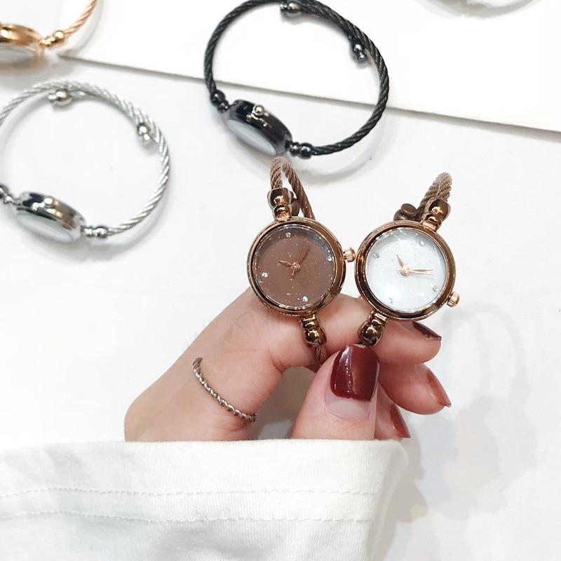 AliExpress - Luxury Starry Sky Bracelet Watches Women Fashion Shine Diamond Elegant Ladies Bangle Wristwatches Female Quartz Montre Femme