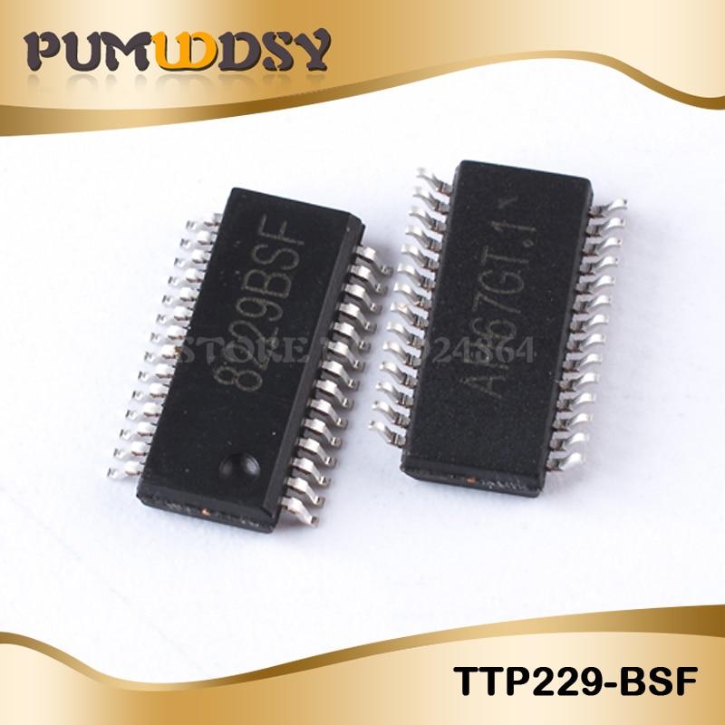 5PCS TTP229-BSF TTP229-B TTP229 SSOP28 16 IC mejor calidad IC