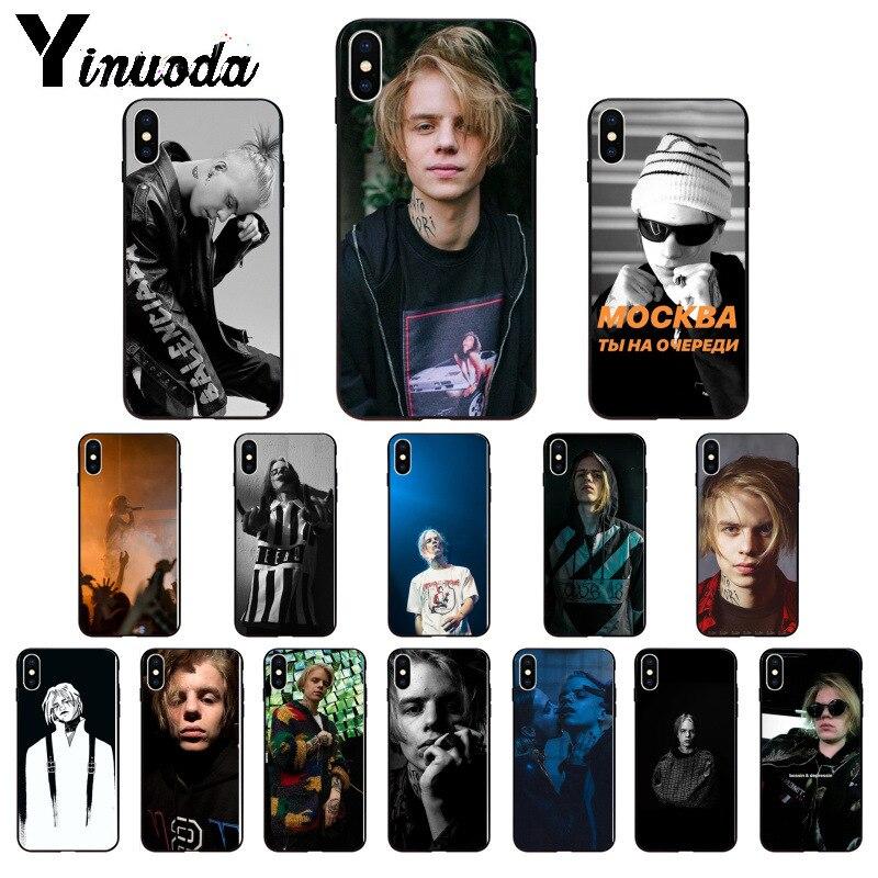 Yinuoda Россия рэппер Фараон клиент высокое качество чехол для телефона iPhone X XS MAX 6 6s 7 7plus 8 8Plus 5 5S SE XR