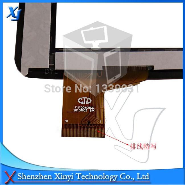 10pcs/lot Free Shipping FM700405KA FM703906KA PB70A8508 KDX7 7 Inch Universal type General Touch Screen 100% tested