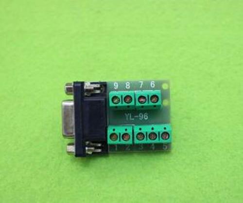 ¡Envío Gratis! Terminal de transferencia hembra/RS232/DB9/serial-to-terminal/DR9 módulo conector sensor/componente electrónico