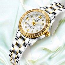 De luxe marque Relogio Feminino Date horloge femme étanche 30 M montre dames montre décontractée à la mode mécanique poignet femmes montres