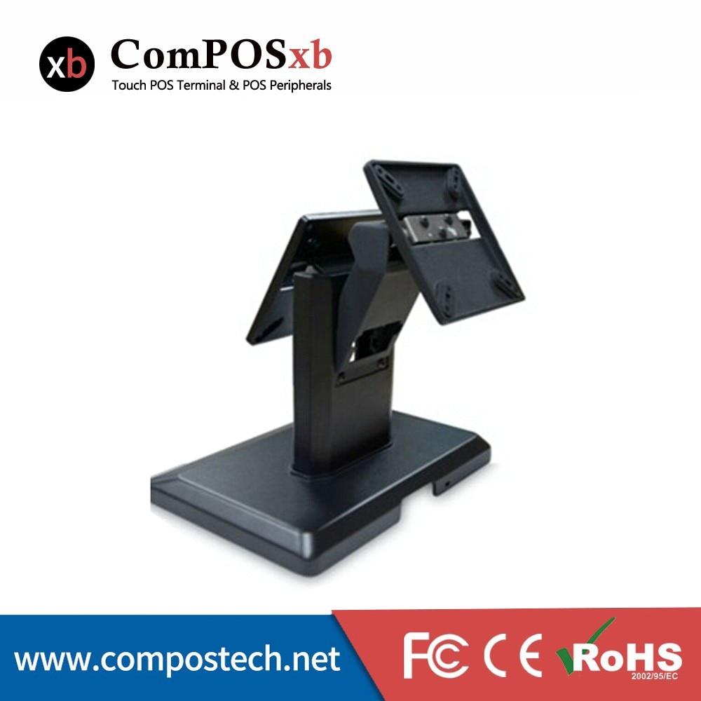 POS base para monitor de pantalla base soporte de doble pantalla VESA 100*100mm/75*75mm