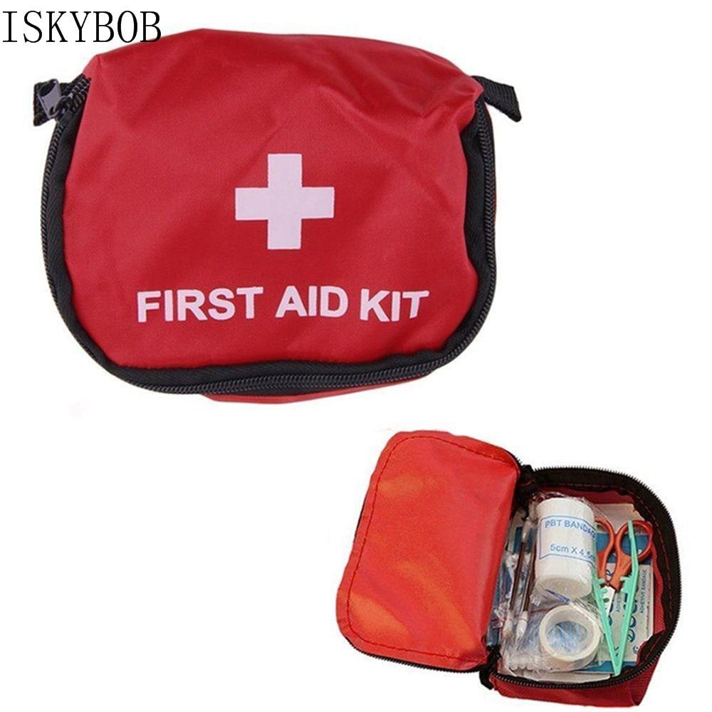 Bolsa de primeros auxilios vacía portátil, bolsa de botiquín para el hogar, oficina médica, bolsa de viaje de emergencia, bolsa, paquete médico, accesorios de viaje